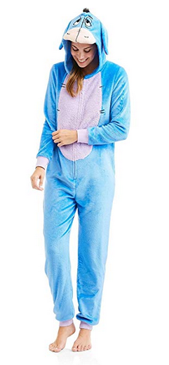 one piece Eyeore pajama for adult