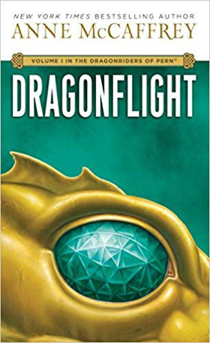 cover of Dragonflight- Volume I in The Dragonriders of Pern by Anne McCaffrey