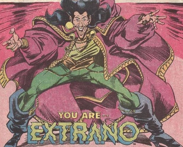 Extrano in New Guardians