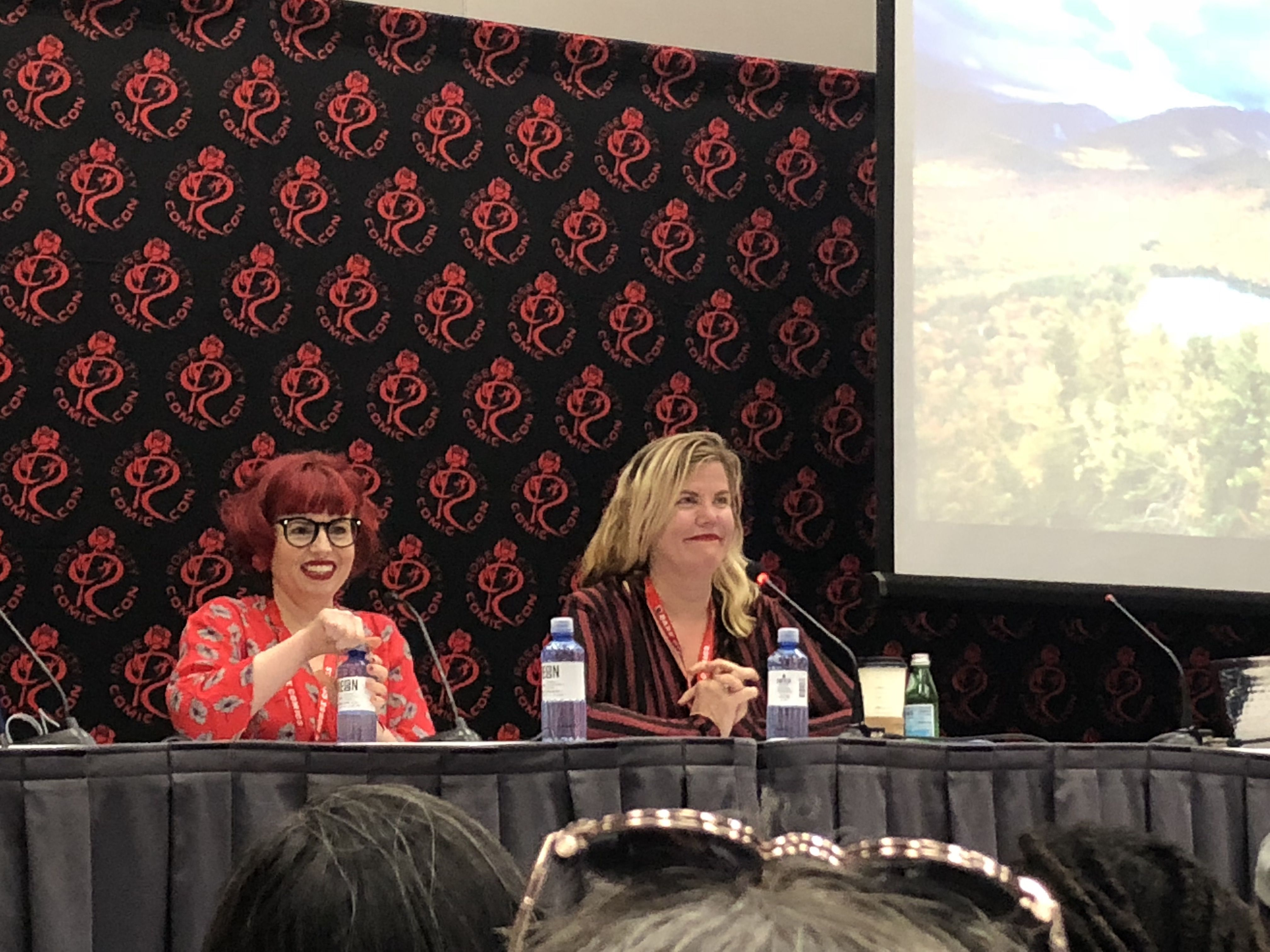 Kelly Sue DeConnick and Chelsea Cain: Making Comics and Trouble