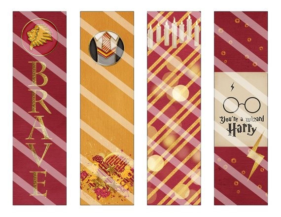 image regarding Printable Harry Potter Bookmarks referred to as Choose Such Enchanting Do it yourself And Printable Harry Potter Bookmarks