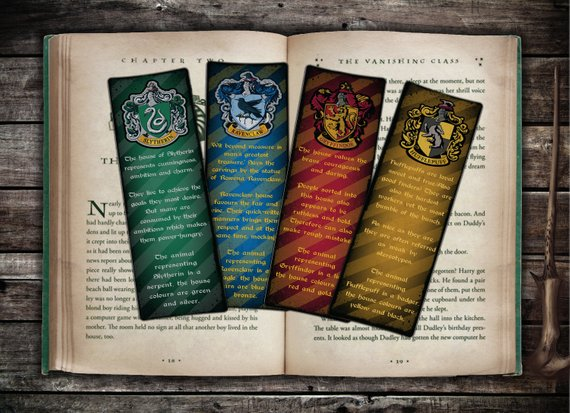 graphic relating to Harry Potter Printable Bookmarks known as Buy These kinds of Enchanting Do it yourself And Printable Harry Potter Bookmarks
