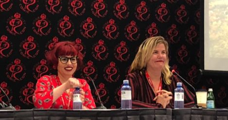 Kelly Sue DeConnick and Chelsea Cain Feature