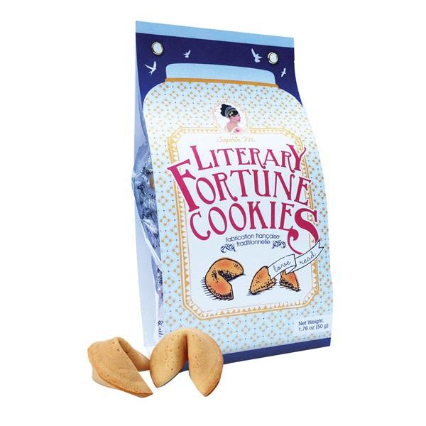 Bolsa de galletas de fortuna literarias