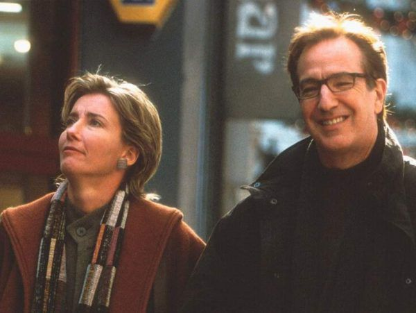 Emma Thompson and Alan Rickman in Love, Actually
