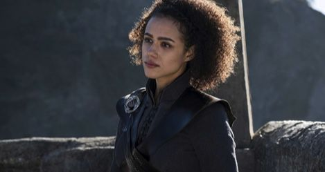 Nathalie Emmanuel in Game of Thrones feature