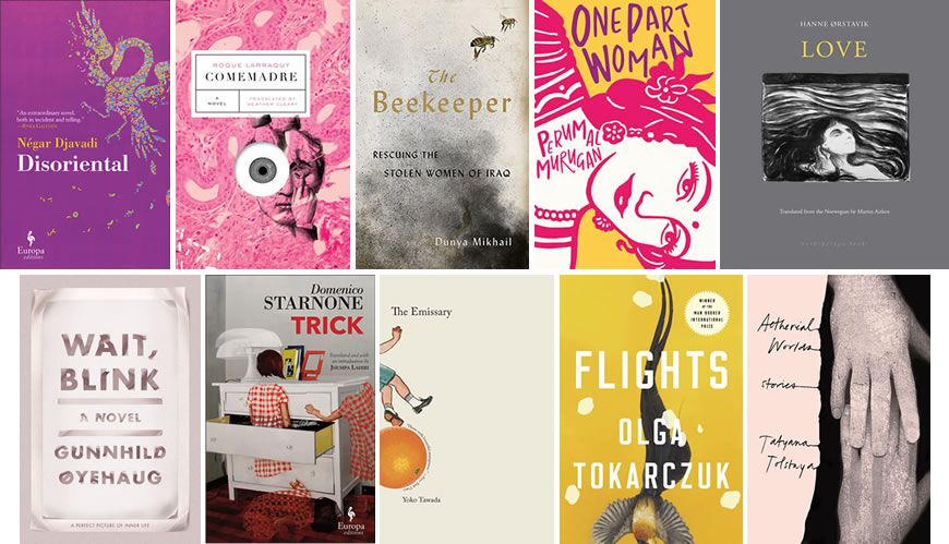 Announcing the 2018 National Book Awards Translated Literature Longlist
