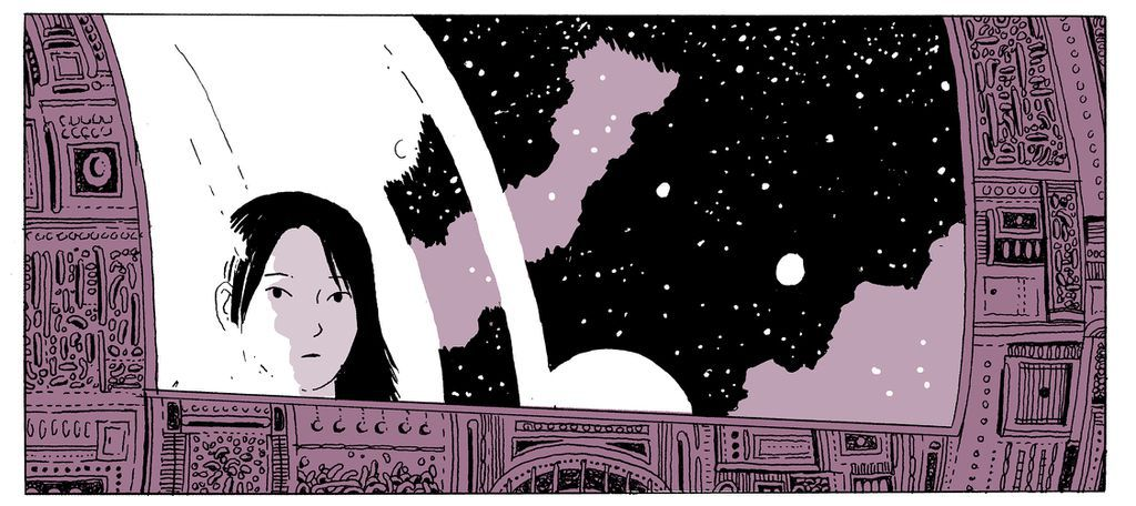 On a Sunbeam by Tillie Walden, page 1