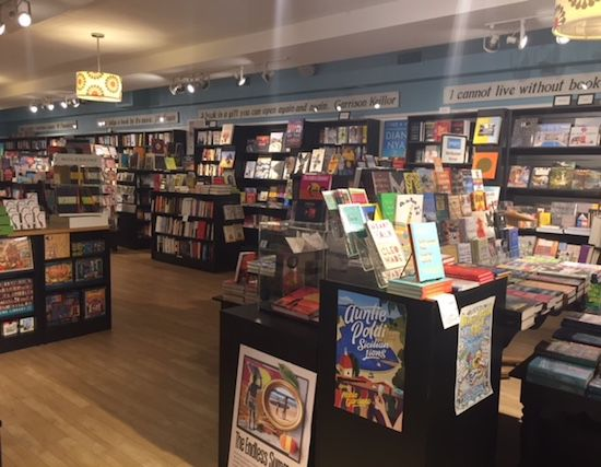 Pages Bookstore in Manhattan Beach