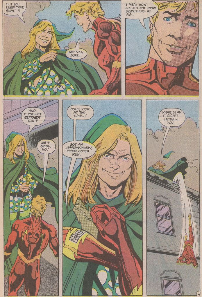 Piper Comes Out in Flash #53