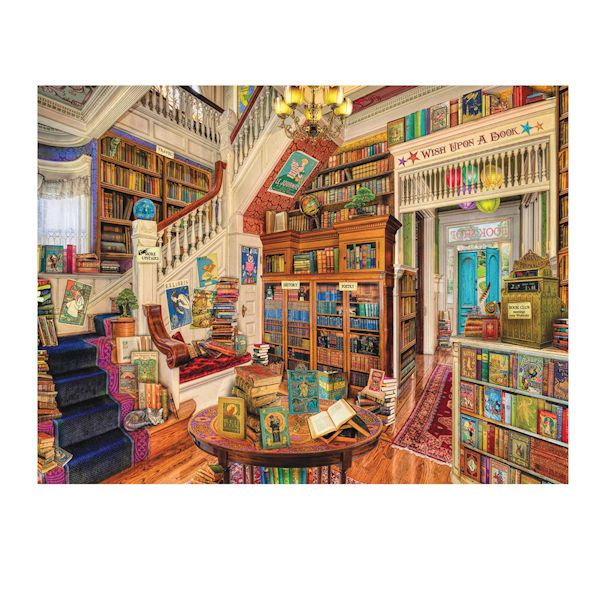 Image of a room full of books