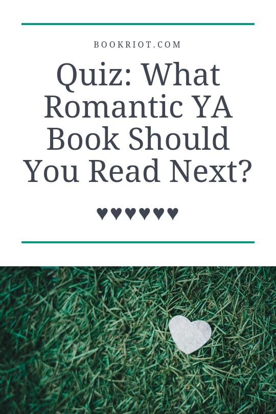 Romantic YA Book Quiz