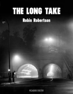 The Long Take Robin Robertson cover