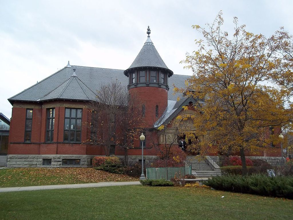 Westmount Library front facade