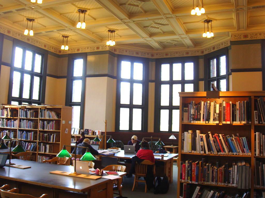 Inside the Westmount Public Library