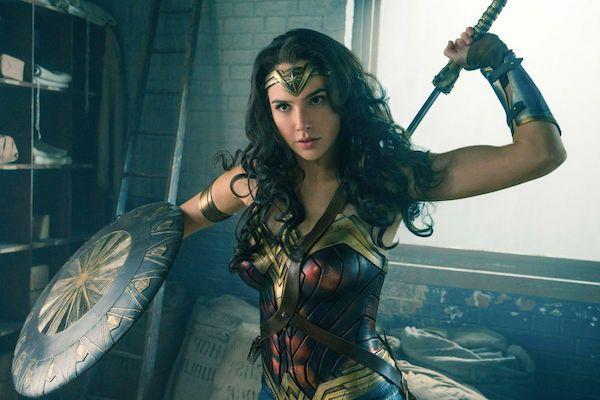 Gal Gadot as Wonder Woman in 2017 movie