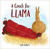 a couch for llama book cover