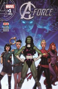 A-Force from What To Know About Captain Marvel | bookriot.com