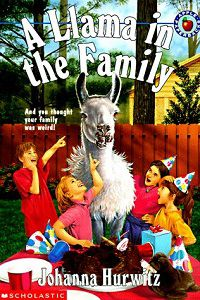 a llama in the family book cover