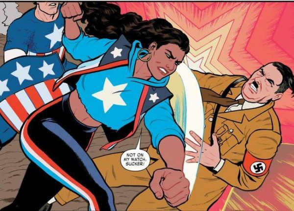 America Chavez comic panel