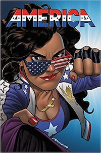 America comic book cover