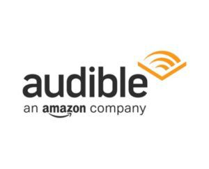 Audible logo, Best Audiobook Service - Book Riot