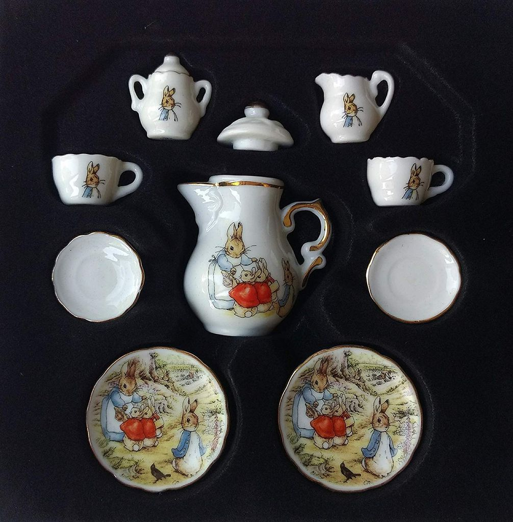Beatrix Potter Porcelain Tea Set for Kids