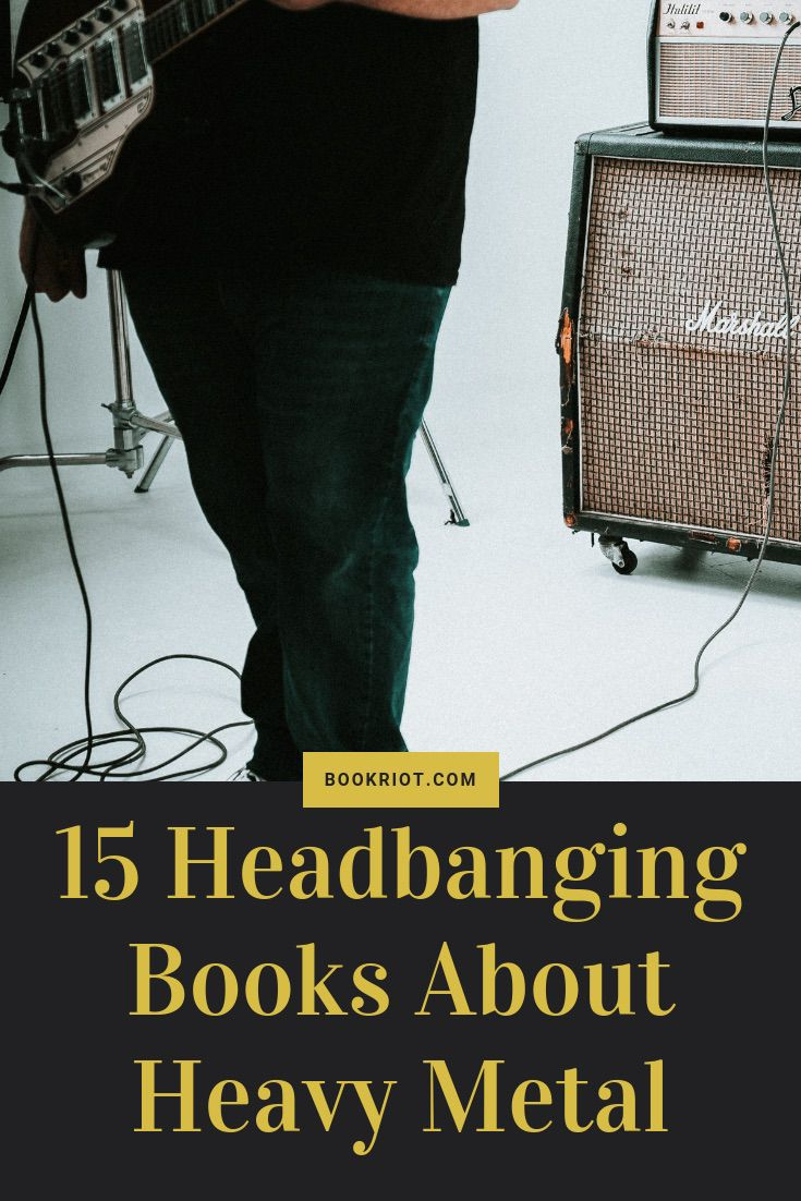 15 headbanging books about heavy metal. book lists | headbanging | heavy metal books | books about music