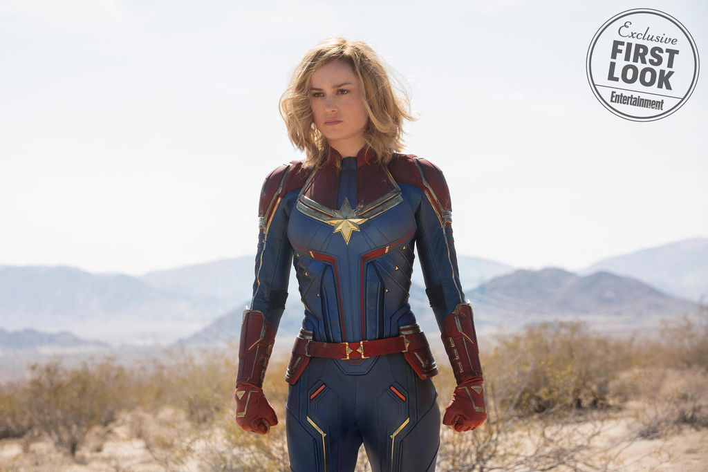 Brie Larson as Captain Marvel from What To Know About Captain Marvel | bookriot.com