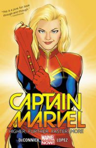 Captain Marvel: Higher, Further, Faster, More from What To Know About Captain Marvel | bookriot.com