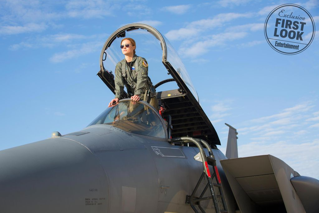 Brie Larson as Carol Danvers from What To Know About Captain Marvel | bookriot.com