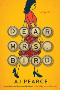 Capa de Dear Mrs Bird por AJ Pearce