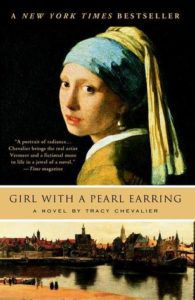 girl with a pearl earring by tracy chevalier cover image