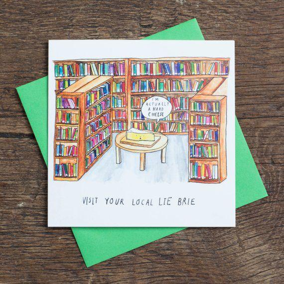 lie brie card