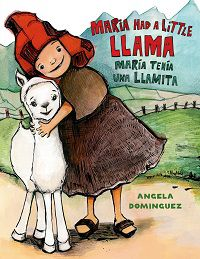 maria had a little llama book cover