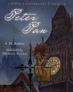 Peter pan book cover