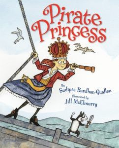 pirate princess by by Sudipta Bardhan-Quallen and Jill McElmurry cover image