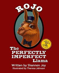 rojo the p-erfectly imperfect llama
