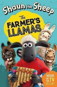 shaun the sheep the farmers llamas book cover