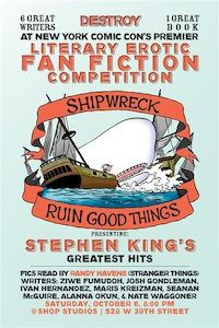 Shipwreck postcard for NYCC show on October 6