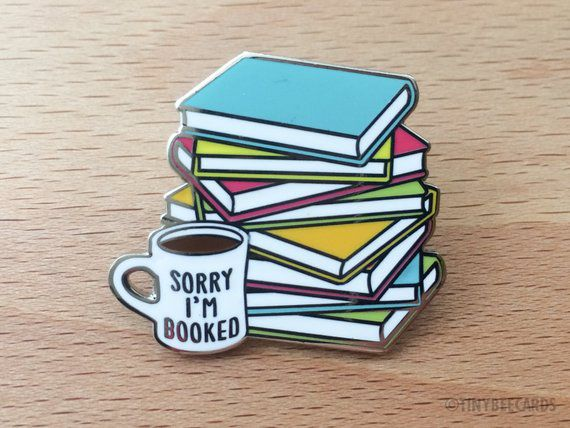 sorry I'm booked pin