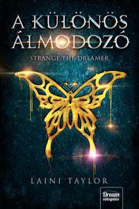 Strange the Dreamer Hungarian Edition from Strange the Dreamer Cover Roundup | bookriot.com
