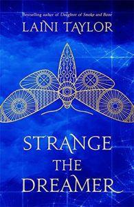 Strange the Dreamer U.K. Cover from Strange the Dreamer Cover Roundup | bookriot.com