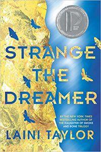 Strange the Dreamer U.S. Hardback from Strange the Dreamer Cover Roundup | bookriot.com