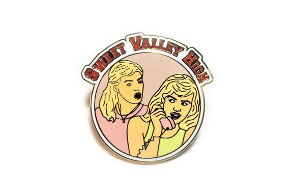 Sweet Valley High enamel pin