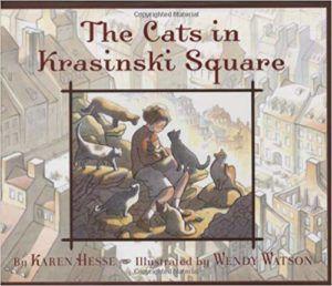 The Cats in Krasinsky Square book cover