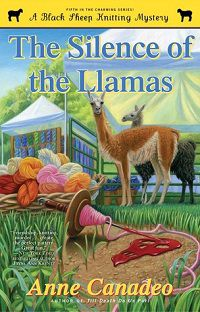 the silence of the llamas book cover