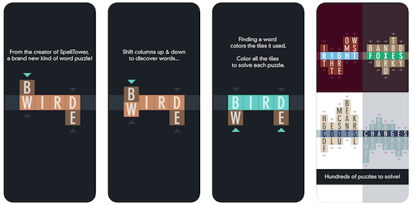 Typeshift game app screenshot