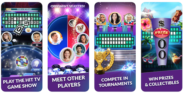 Wheel of Fortune game app screenshot