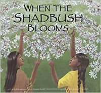 Cover of When the Shadbush Blooms by Carla Messinger and Susan Katz